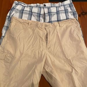 5 pairs of Men's khaki shorts for $45!!